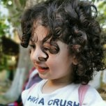 Фотография ребенка Салисат на Вачанге
