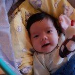 Mia Lauritsen's baby picture on Wachanga