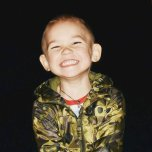Фотография ребенка Данила на Вачанге