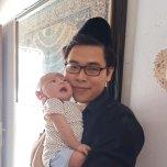 Heiz Wahba Rabbic's baby picture on Wachanga