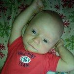Noah's baby picture on Wachanga
