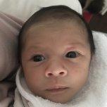 Xavier's baby picture on Wachanga