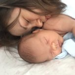 Thea's baby picture on Wachanga