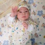 Фотография ребенка Эмин на Вачанге