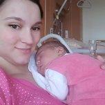 Rahela's baby picture on Wachanga