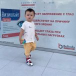 Фотография ребенка Амирхамза на Вачанге