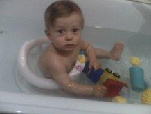 Отчёт по занятию Игрушки в ванной в Wachanga!