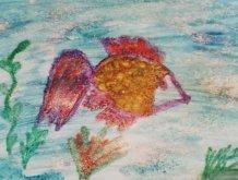 Отчёт по занятию Рисуем картину акварелью и солью в Wachanga!