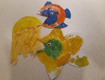 Отчёт по занятию Морские обитатели руками ребёнка в Wachanga!
