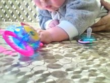 Отчёт по занятию Чему можно научить ребенка в 4 месяца в Wachanga!