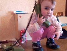 Отчёт по занятию Старый телефон в Wachanga!