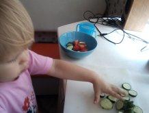 Отчёт по занятию Разноцветный салат в Wachanga!