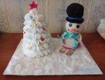 Отчёт по занятию Веселые снеговички в Wachanga!