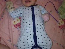 Отчёт по занятию Первая одежда малыша на память в Wachanga!
