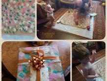Отчёт по занятию Подарок на 23 февраля: упаковка своими руками в Wachanga!
