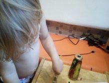 Отчёт по занятию Декорируем бутылки акриловыми красками в Wachanga!