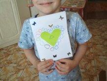 Отчёт по занятию Открытка с сердечком в Wachanga!