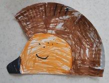 Отчёт по занятию Сделайте вместе с малышом ёжика в Wachanga!