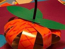 Отчёт по занятию Сделайте вместе с ребенком тыкву из бумаги в Wachanga!