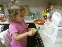 Отчёт по занятию Испеките вместе с ребенком пирог с изюмом в Wachanga!