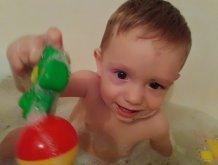 Отчёт по занятию Поиграйте в ванне с мячиками в Wachanga!