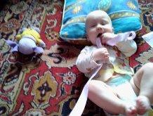 Отчёт по занятию Развитие ребенка в 9 месяцев  в Wachanga!