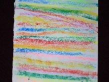 Отчёт по занятию Полосатое одеяло в технике пастели в Wachanga!