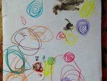 Отчёт по занятию Рисуем клубочки в Wachanga!