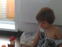 Отчёт по занятию Предложите ребенку поиграть с деревянными кубиками в Wachanga!