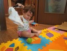 Отчёт по занятию Прятки с игрушкой в Wachanga!