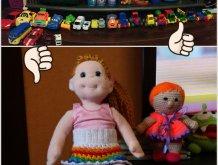 Отчёт по занятию Поиграйте в куклы в Wachanga!