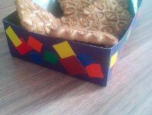 Отчёт по занятию Корзиночка для конфет в Wachanga!