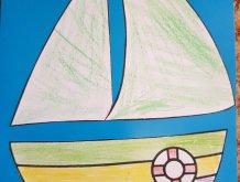 Отчёт по занятию Аппликация «Кораблик» в Wachanga!