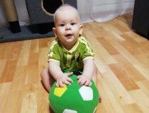 Отчёт по занятию Футбольный мяч для крохи в Wachanga!