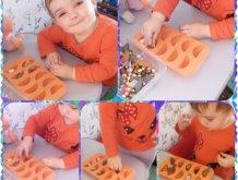 Отчёт по занятию Игры с формочками для льда в Wachanga!