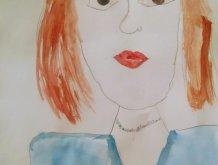 Отчёт по занятию Портрет мамы в Wachanga!