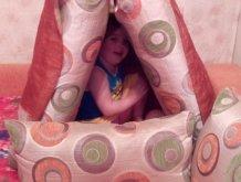 Отчёт по занятию Шалаш из мебели и одеял в Wachanga!