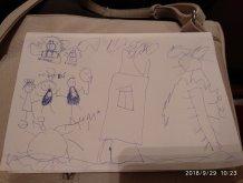 Отчёт по занятию Альбом детских рисунков в Wachanga!