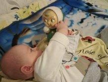 Отчёт по занятию Как играть с ребенком в 4 месяца в Wachanga!