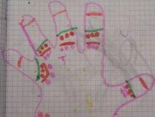 Отчёт по занятию Руки на бумаге в Wachanga!