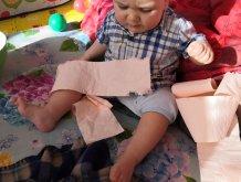 Отчёт по занятию Забавные игры с рулоном бумаги в Wachanga!