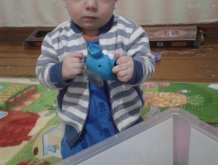 Отчёт по занятию Дай мне игрушку! в Wachanga!