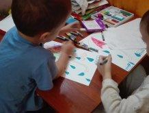 Отчёт по занятию Разноцветный зонтик в Wachanga!
