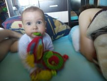 Отчёт по занятию Психология ребенка седьмого месяца жизни в Wachanga!