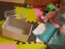 Отчёт по занятию Развивающие игры с бумагой в Wachanga!