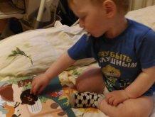 Отчёт по занятию Игры с наклейками, или Как быстро переодеть малыша в Wachanga!