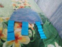 Отчёт по занятию Сделайте медузу из бумаги в Wachanga!