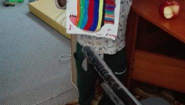 Отчёт по занятию Как сделать зубастую рыбу из бумаги в Wachanga!