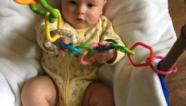 Отчёт по занятию Сделайте для малыша цепь из колечек в Wachanga!