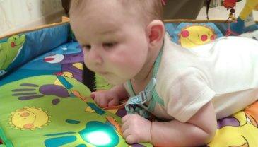 Отчёт по занятию Что может ребенок в один месяц в Wachanga!